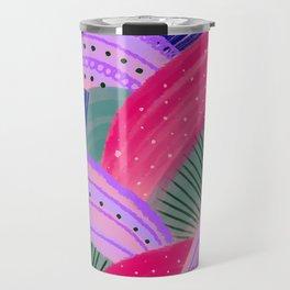 Curves Pink Travel Mug