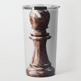 bishop low poly Travel Mug