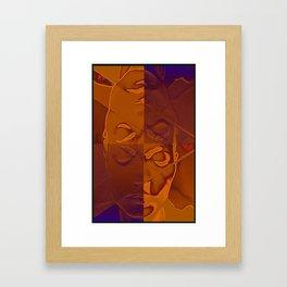 Contemplative Framed Art Print