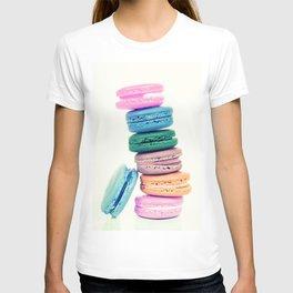Pastel Macaroons  T-shirt