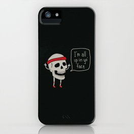 Skull in your Face iPhone Case