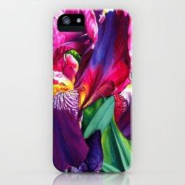 The Queen's Iris iPhone Case