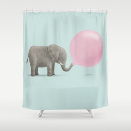 Jumbo Bubble Shower Curtain