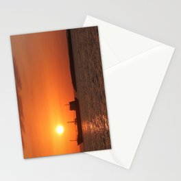 Sunset in Cuba Stationery Cards