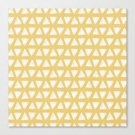 triangle pattern (4) Canvas Print