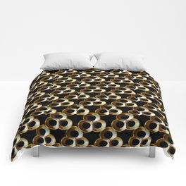 Gold Trefoils Comforters