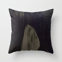 The Obscured Touch Throw Pillow