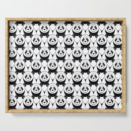 Pure Panda Serving Tray