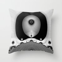 focus Throw Pillows featuring Focus by Christy Leigh