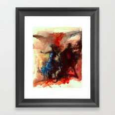 Renk Kuşağı Framed Art Print