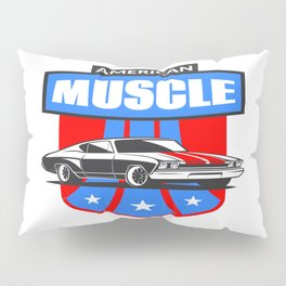 American Muscle Car Pillow Sham