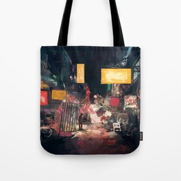 The Closing Hours Tote Bag