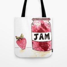 Strawberry VS Jam Tote Bag