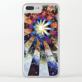 Space Odyssey - Big Bang II Clear iPhone Case