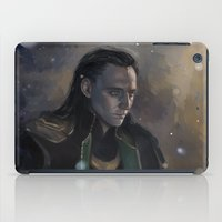loki iPad Cases featuring Loki by Ka-ren