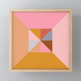Shape and Color Study 324 Framed Mini Art Print