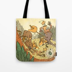 Brain Fox Tote Bag