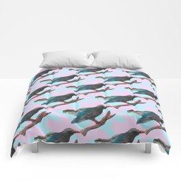 cuckoo pattern Comforters
