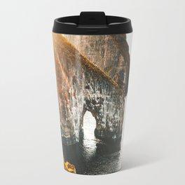 view of Faroe islands Travel Mug