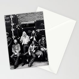 At Fillmore East (Live) 1971 by The Allman Brothers Band - Vectorized Stationery Cards