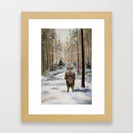 The Gentle Giant Framed Art Print