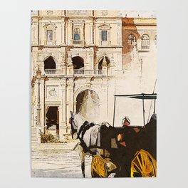 Plaza de Espana, Seville Poster