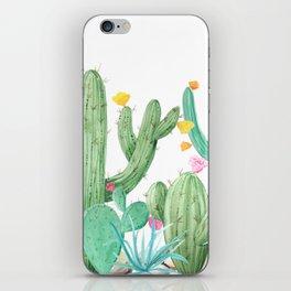 Cactus Cacti Succulent Garden Desert Southwest iPhone Skin