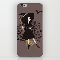 poison ivy iPhone & iPod Skins featuring Poison Ivy by Reimena Ashel Yee