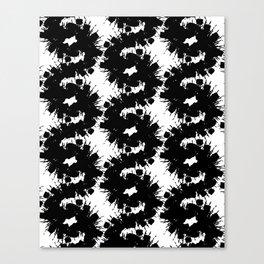 Dark flashlight Canvas Print