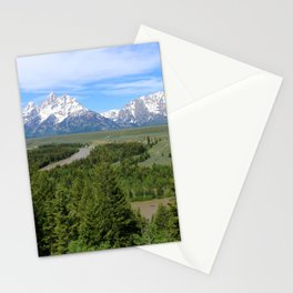 Snake River And The Grand Tetons Stationery Cards