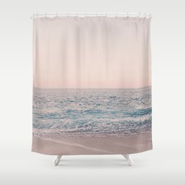 ROSEGOLD BEACH Shower Curtain