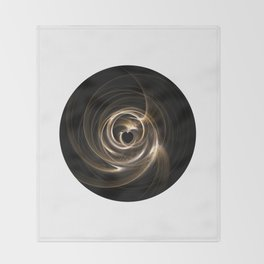 Abstract 17 001e Throw Blanket