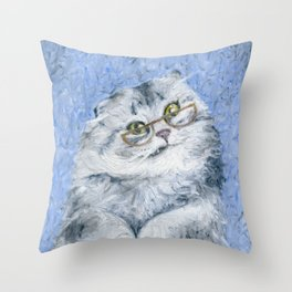 Merp? Throw Pillow