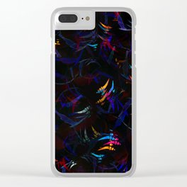 Abstract Butterfly pattern #5 Clear iPhone Case