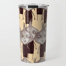 Onions pattern Travel Mug