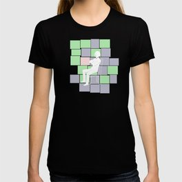 Think there and be square T-shirt