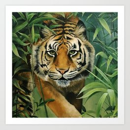 Jungle Cat Art Print