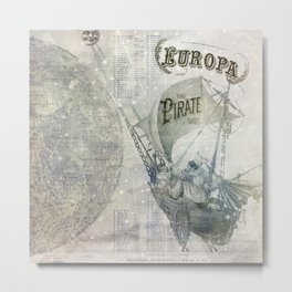 Europa and the Pirate Twins Metal Print