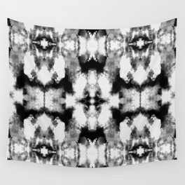 Tie Dye Blacks Wall Tapestry