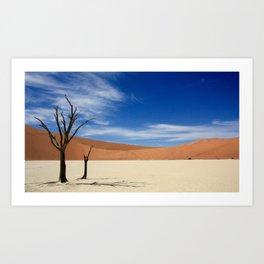 Dead Tree Desert Art Print