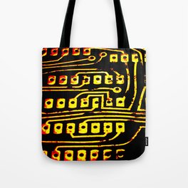 Beercan Furnace Tote Bag