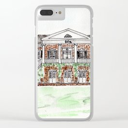 University of Alabama, Alabama, Greek life Clear iPhone Case