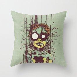Puppet II. Throw Pillow