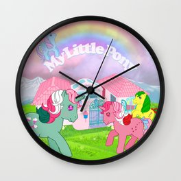 g1 my little pony Wall Clock