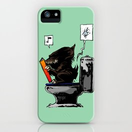Moment of throne iPhone Case