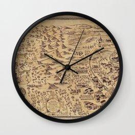Marauder's Map (complete) Wall Clock