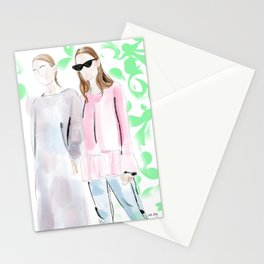 Street Style Ladies Stationery Cards