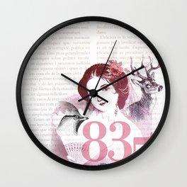 Pretty Moment Wall Clock
