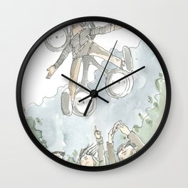 """Dronny Johnny "" Wall Clock"