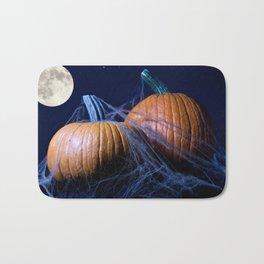 Halloween Pumkins Bath Mat